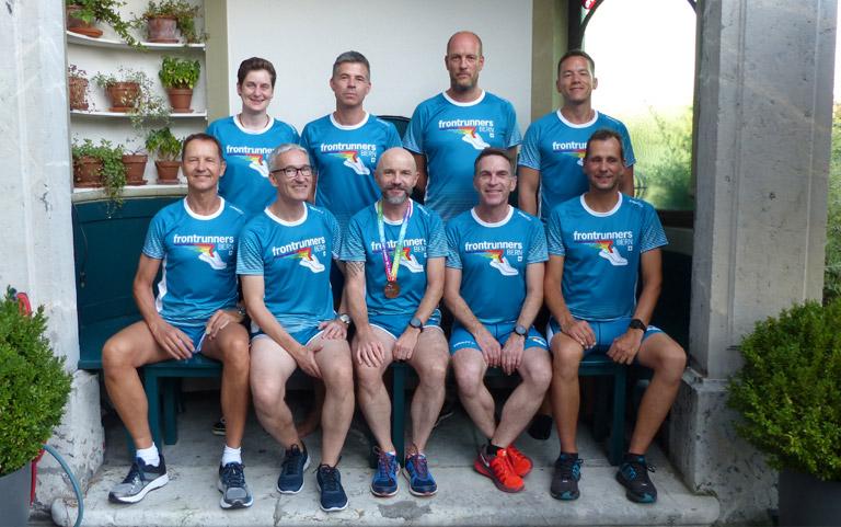BernFrontrunners - die Running-Gruppe des Gay Lesbian Sport Bern (GLSBe)